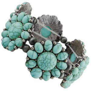Squash Blossom Stretch Bracelet
